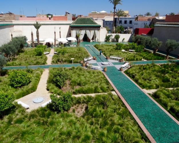 jardin médina Marrakech